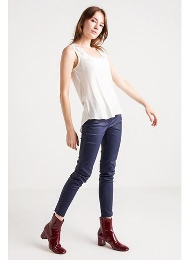 Sawaroski Taş Detaylı İpek Bluz-Love'n Fashion Paris